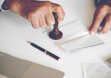 Notarizing documents